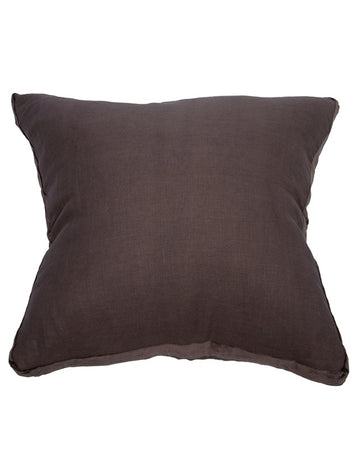 Essential Husk Linen Velvet Cushion 60x60