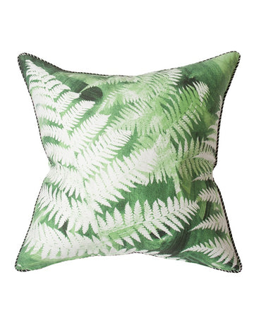 Night Emerald Tree Fern Cushion 55x55