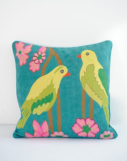 Kashmir Birds cushion