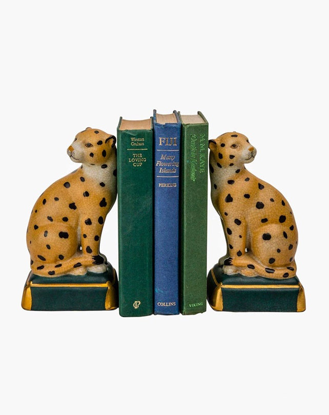 Jungla Leopard Bookends