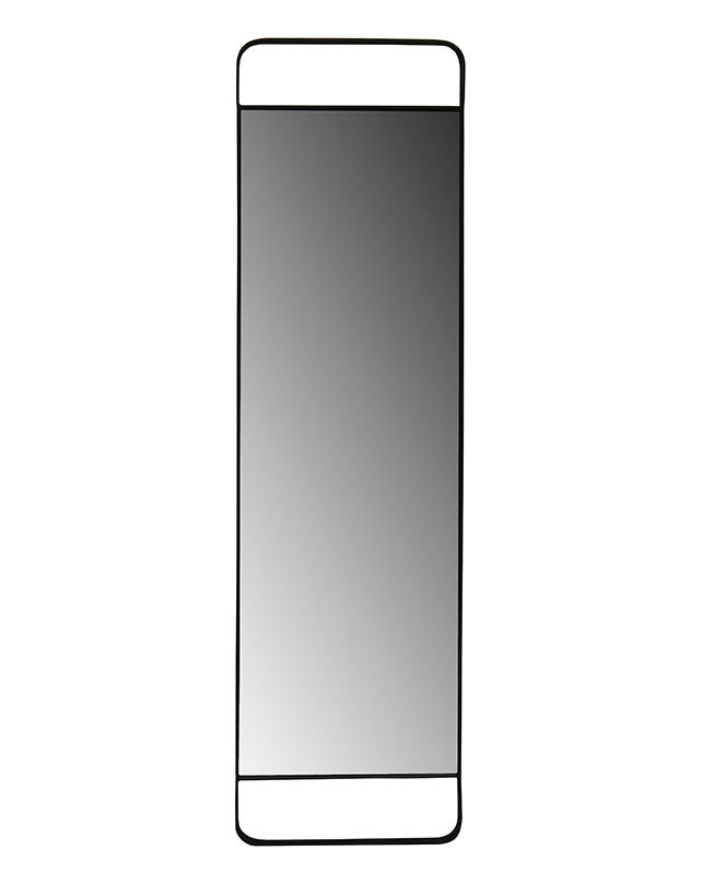 Iron Floor Mirror