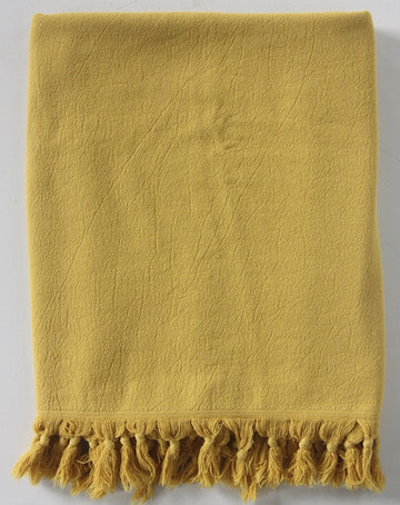 Saffron Vintage Wash Bath Towel