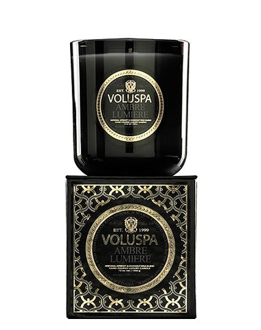 Voluspa Ambre Lumiere Candle