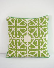 Moroccan Green cushion