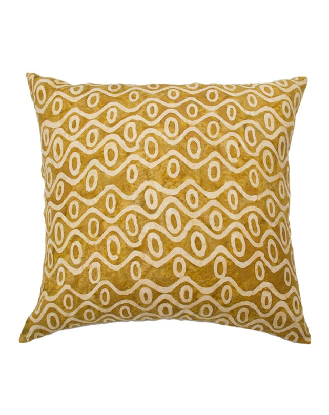 Caramel Waves Cushion 60x60