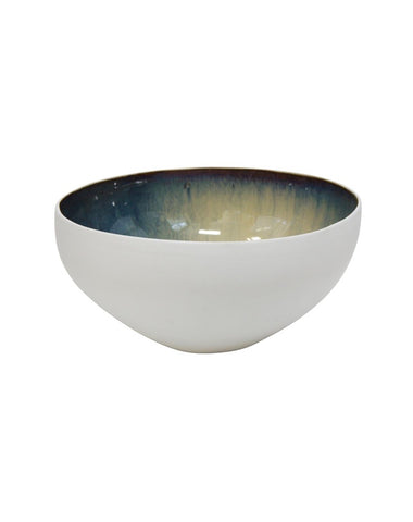 Cinque Large Salad Bowl - White Outer 37x18