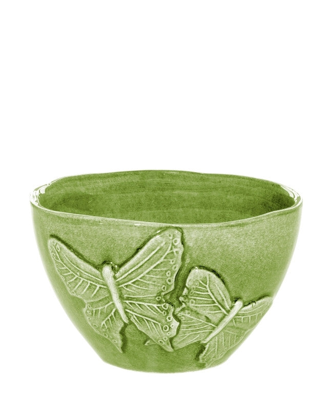 Green Butterfly bowl