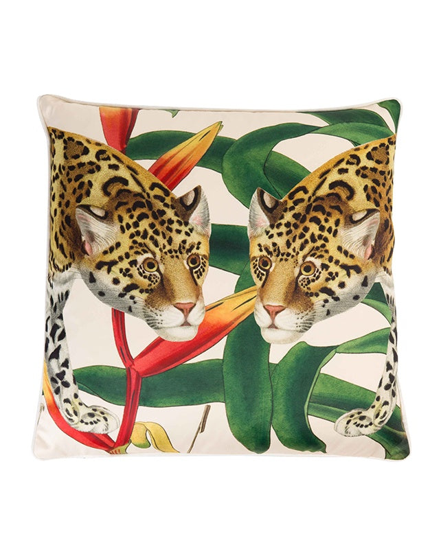 Oriente Cushion - Jaguar