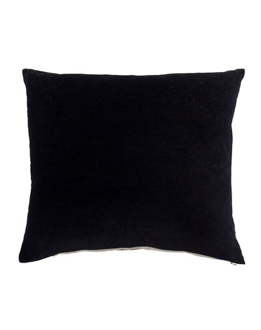 Essential Onyx Velvet Cushion 50x55