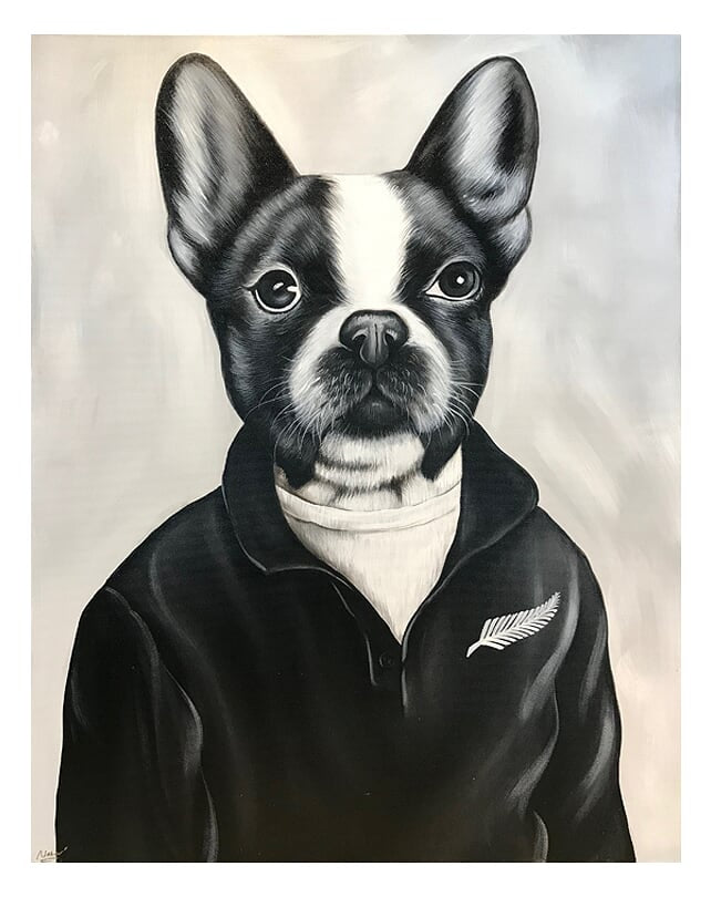 Mr. Frenchie All Black