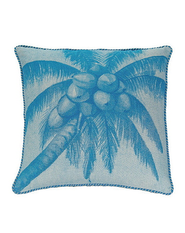 Aqua Pacific Coconuts Cushion