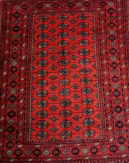 Bukhara Silk and Wool Rug 180x132cm