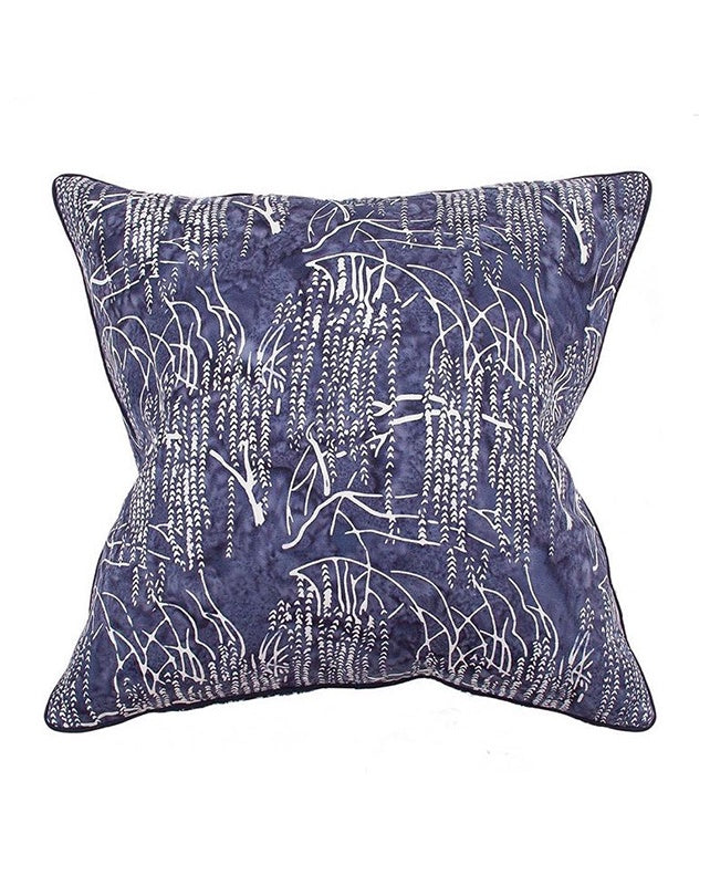 Midnight Willow Cushion 55x55
