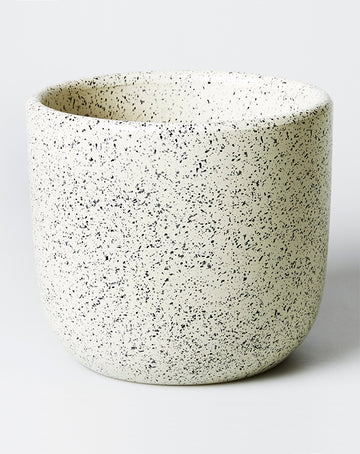 Speckle Pot White - Large