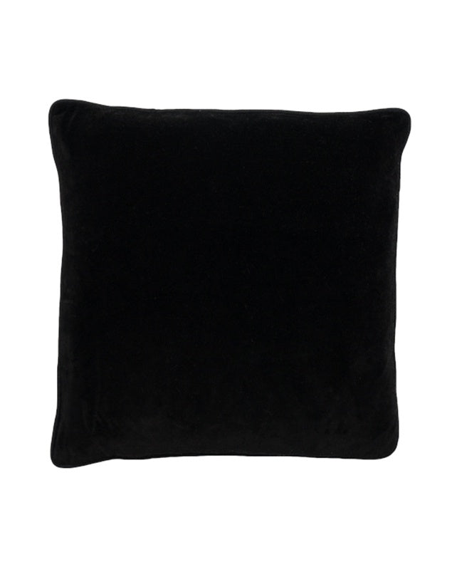 Lynette Black Cushion 50x50