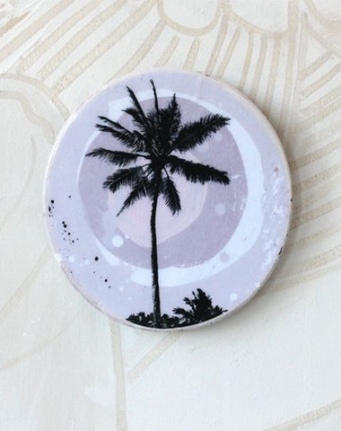 Blush Palm Mini Porthole