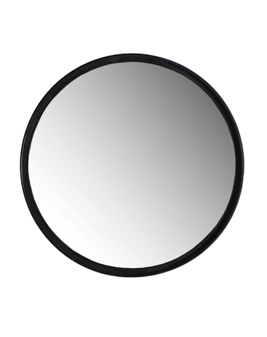 Industrial Round Mirror Medium