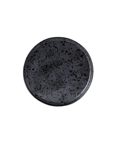 Merchant Small Round Plate - Charcoal