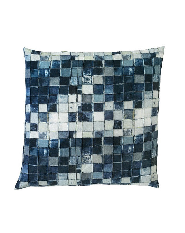 Windows Cushion Navy 50x50