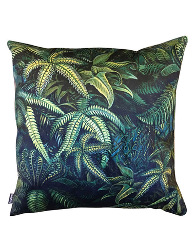 Velvet Cushion Fern 50x50