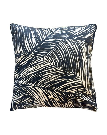 Evermore Cushion Black 50x50