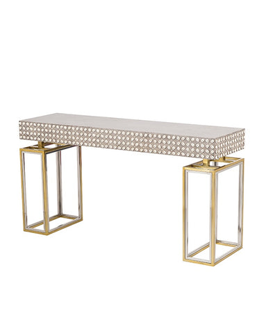 Cowrie Console Table