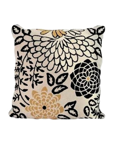 Chrysanthemum cushion 60x60