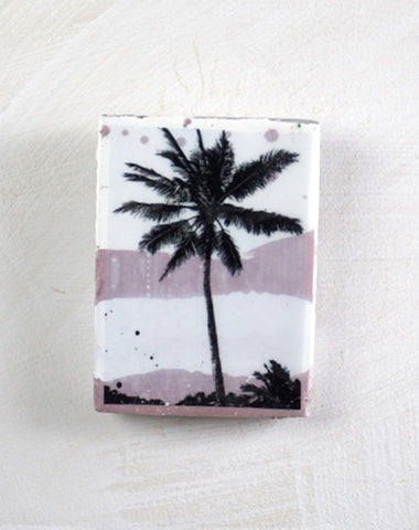 Blush Palm Mini Tile
