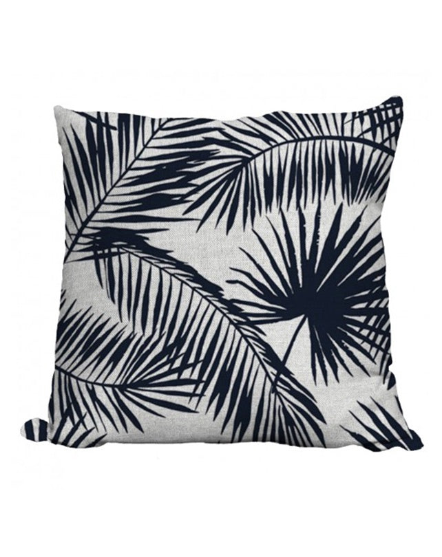 Palm Indigo Cushion