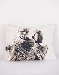 Samburu Men cushion