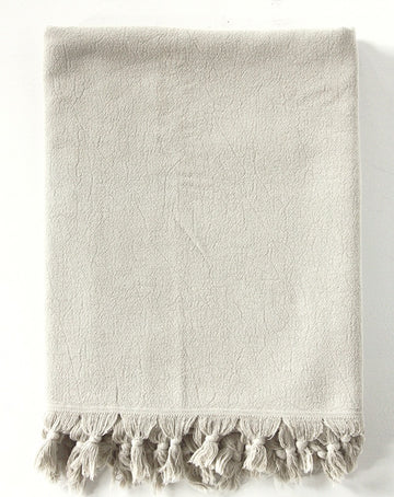 Clay Vintage Wash Bath Towel