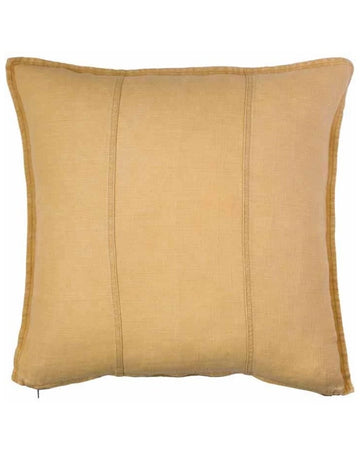 Luca Cushion Mustard 60x60