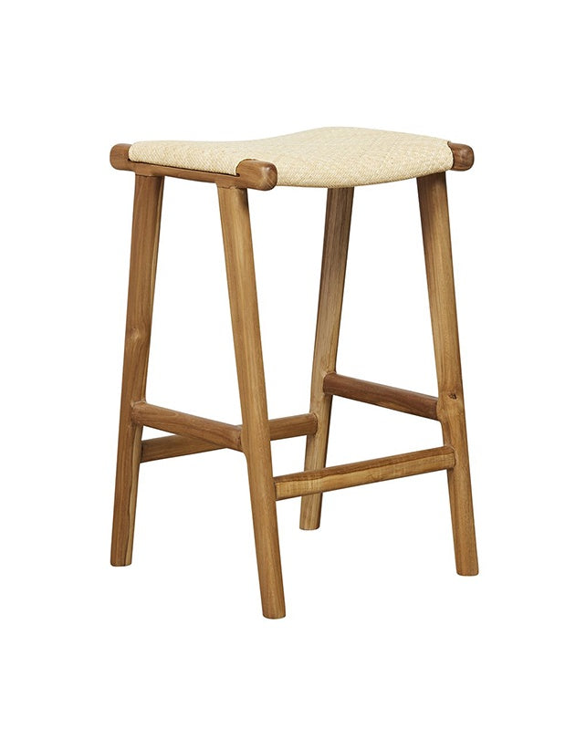Maya Plush Counter Stool