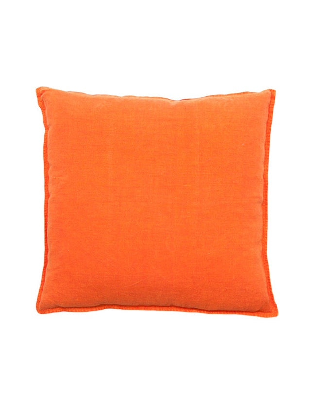 Luca Cushion Orange Large 60x60