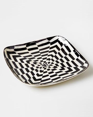 Black Illusion Mini Tray