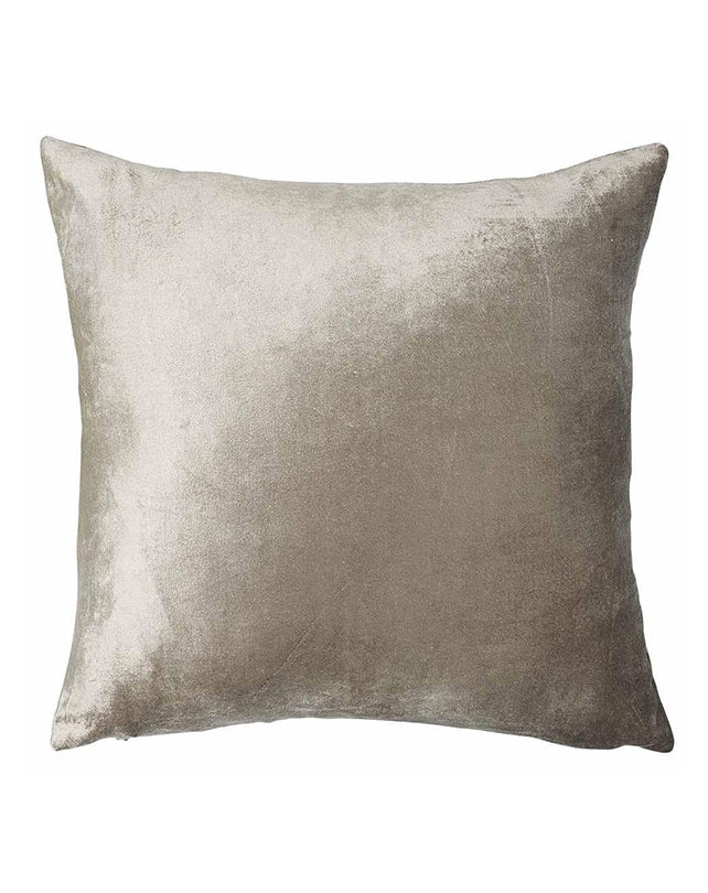 Precious Velvet Cushion 50x50 - Metallic Soft Gold