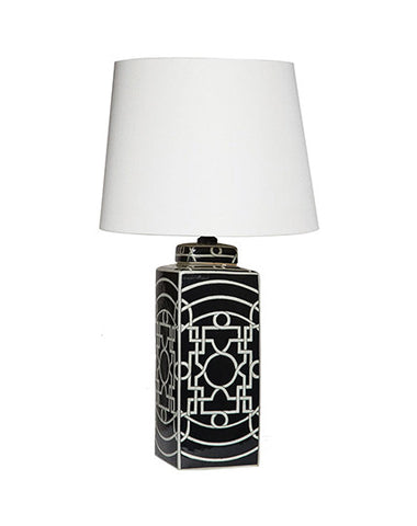 Geometric Lamp (Black)
