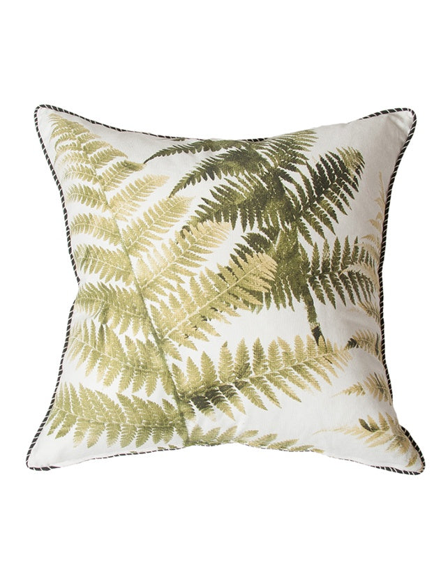 Olive Tree Fern Cushion 55x55