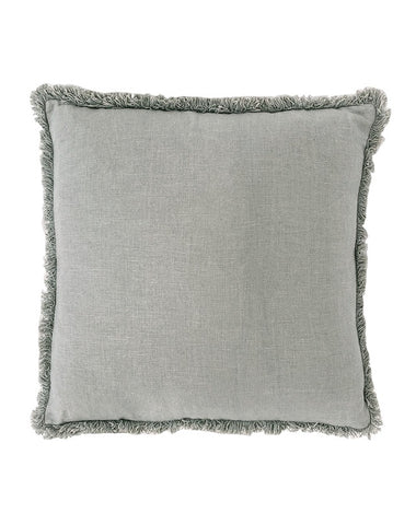 Luca Boho Silver Grey Cushion 60x60