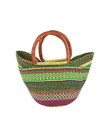 Ghanian Mini U Shopper Basket