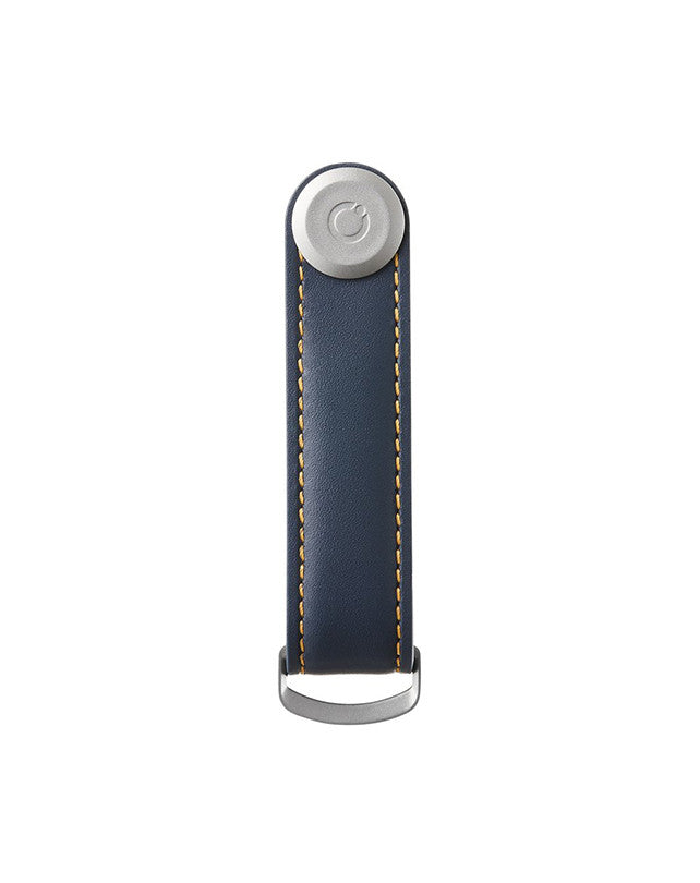 Orbitkey Leather - Navy/Tan