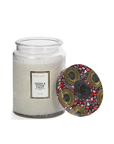 Voluspa Ebony & Stonefruit Candle