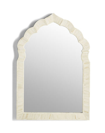 Alhambra Mirror White Bone Inlay