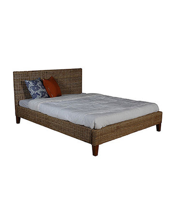 Amsterdam Rattan Bed (Queen)