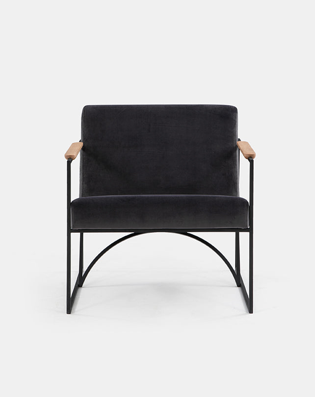 Arch Lounge Chair (Charcoal)