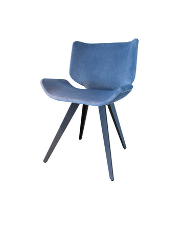 Astra Dining Chair (Dust Blue)