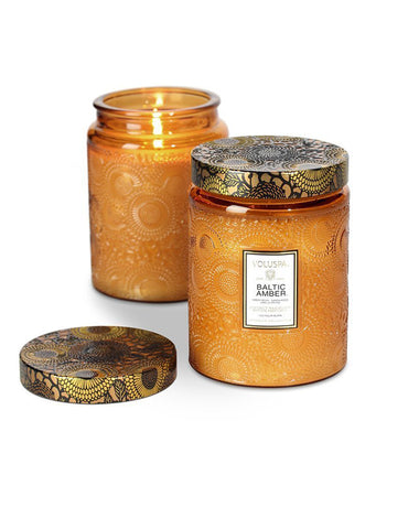 Voluspa Baltic Amber Candle 453g Jar