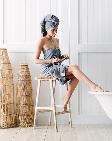 Bath Towel - Ash