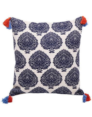 Bermuda Fan Cushion Navy 50x50