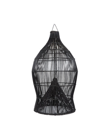 Fishing Basket Pendant Black 25x70